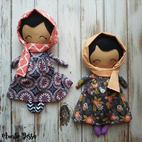 dolls with hijabs