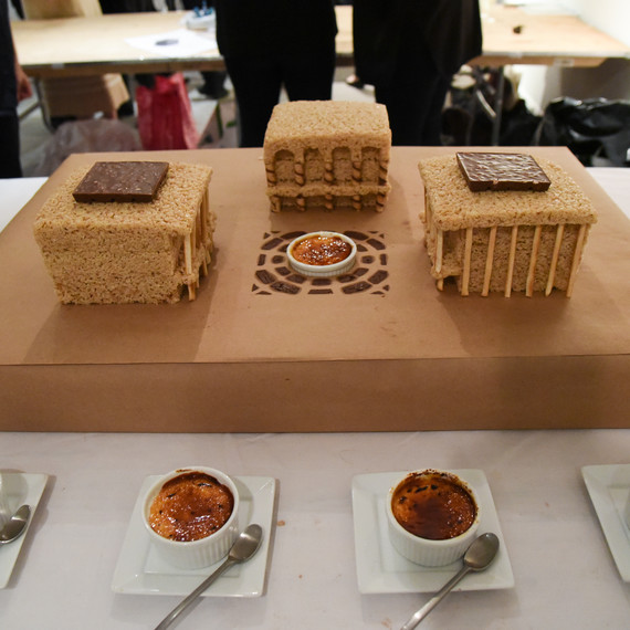 Lincoln Center recreated at the Great Architectural Bake-Off