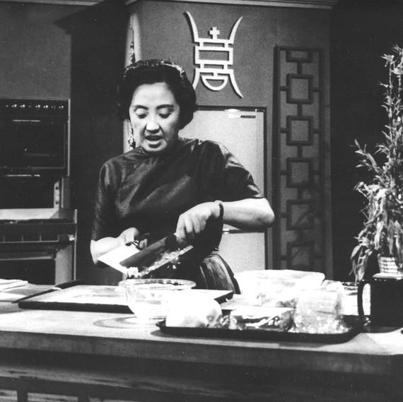Joyce Chen on TV