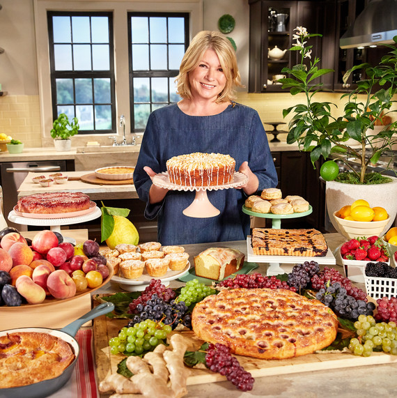 Martha's Back to Baking in the New Year! Get Ready to Be Inspired