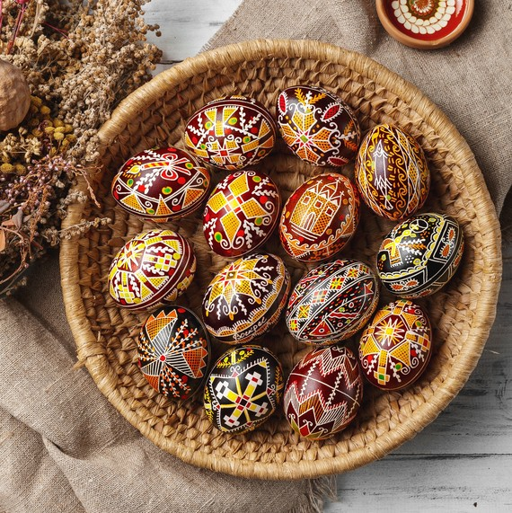 The Most Beautiful Pysanky Easter Egg Designs We've Seen Yet