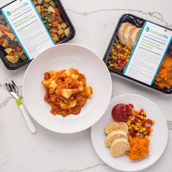 A sampling of Nurture Life's meals