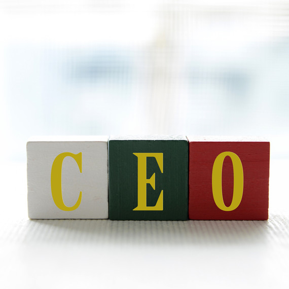CEO small business boss blocks