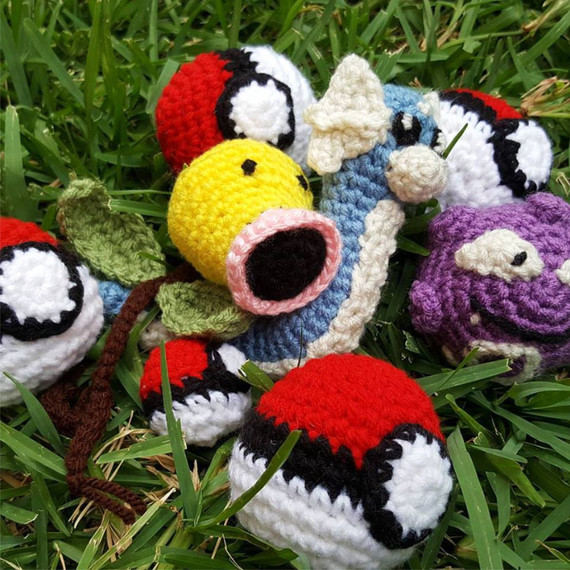 pokemon go crochet