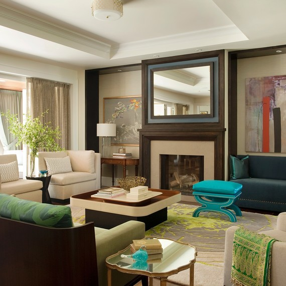 10 Rules to Keep in Mind When Decorating a Living Room | Martha Stewart