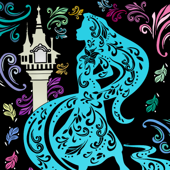 This Adult Coloring Book App Lets You Recreate Magical Fairytales ...
