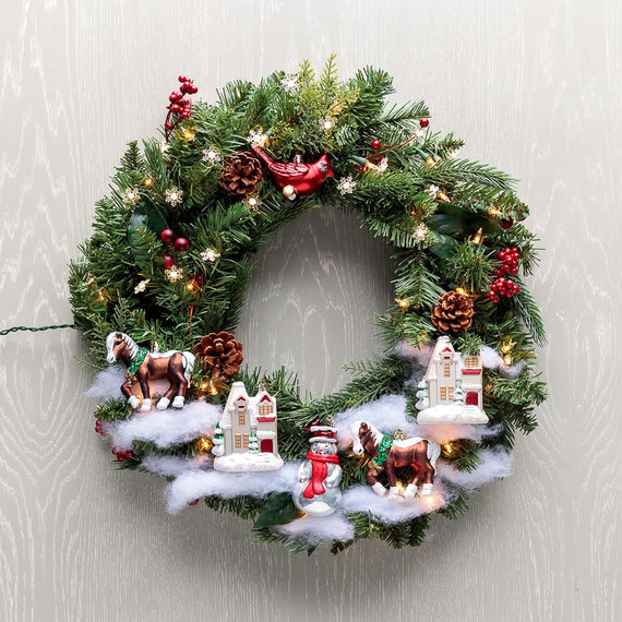 home depot christmas decorations martha stewart how to make a christmas tree wreath easy diy christmas 13493
