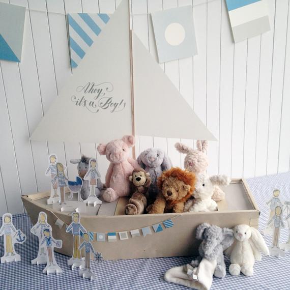 Eg Baby Shower Boat