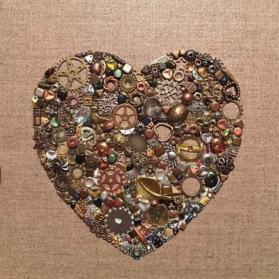 Upcycling heart
