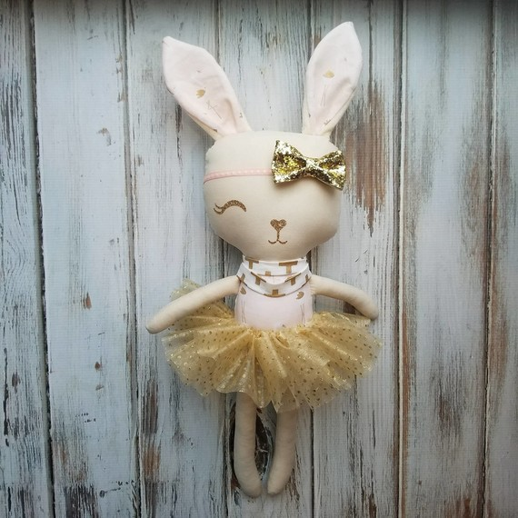 one eyed bunny doll