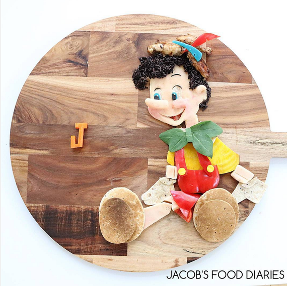 pinnochio made in food