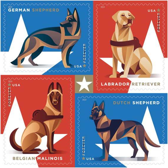 USPS-military-dog-stamps