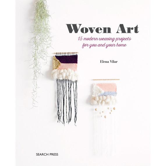 woven art book cover