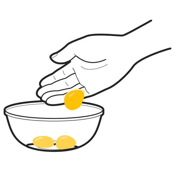 The Best Way to Separate Egg Yolks From Egg Whites ...