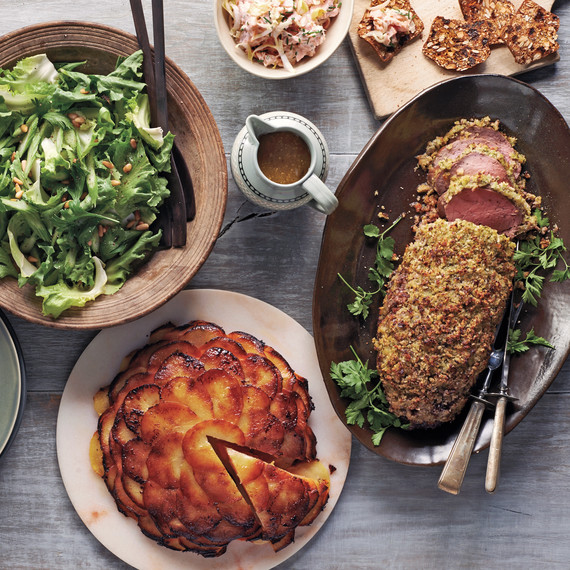 Make Ahead Dinner Party A Cozy Winter Menu For 6 Martha