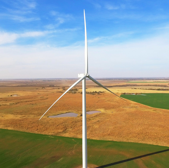 T-Mobile wind turbine