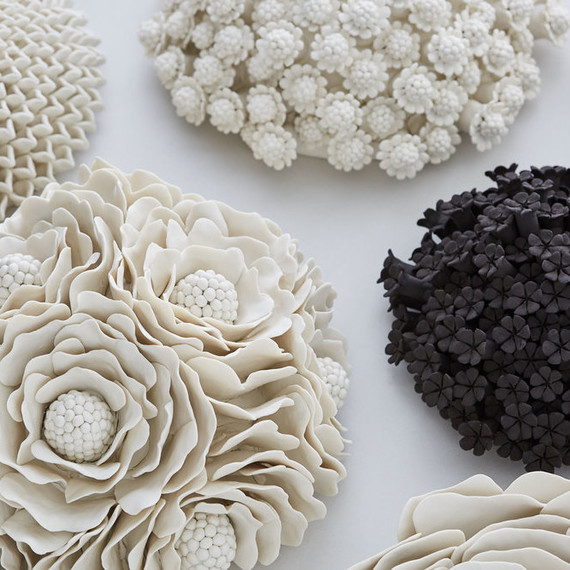 Clay Flowers by Vanessa Hogge