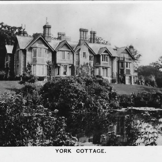 An image of York Cottage, Sandringham, Norfolk, in 1937.