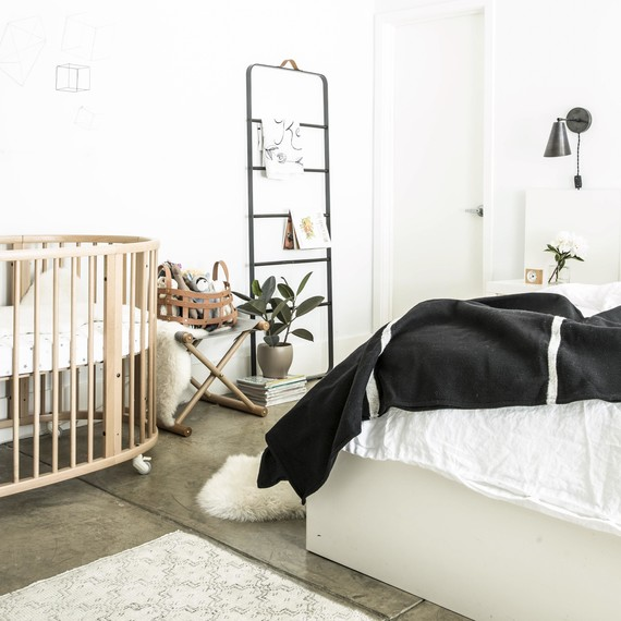 Before & After: Trading a Home Office for a Nursery | Martha Stewart