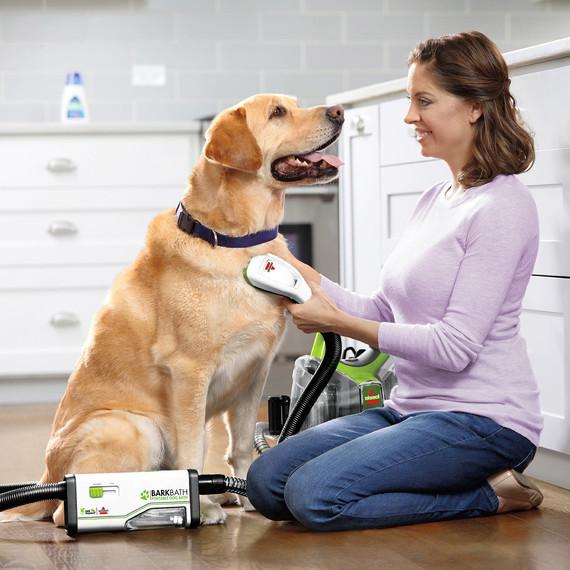 bissell barkbath dog grooming