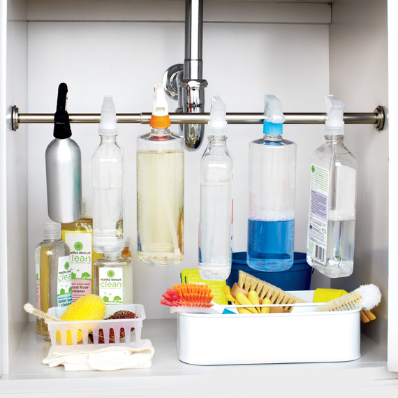 How to Organize Under the Kitchen Sink | Martha Stewart