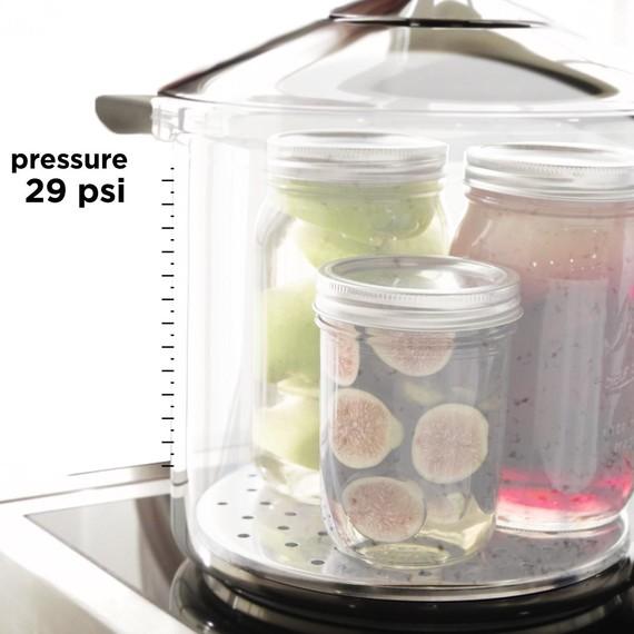 Inside a Pressure Cooker