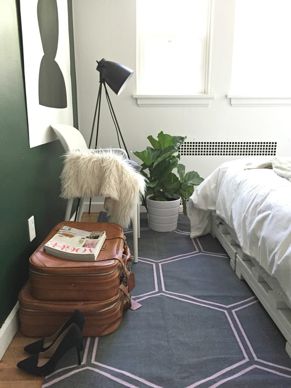 One Room Challenge Green Wall