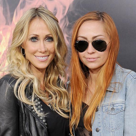 Tish and Brandi Cyrus