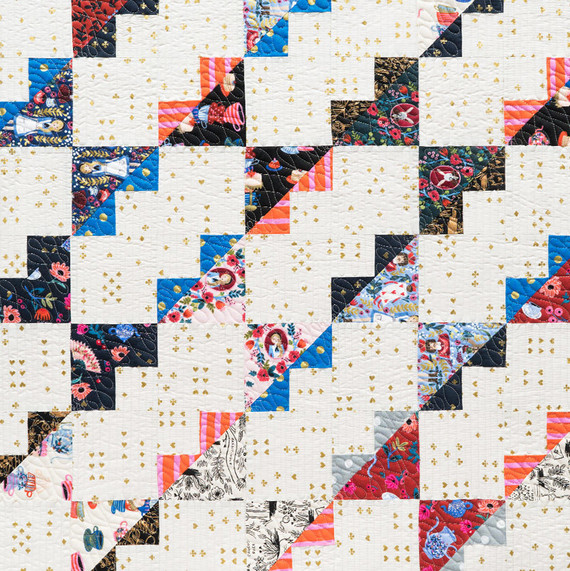 Wonderland quilt by Rifle Paper Co.