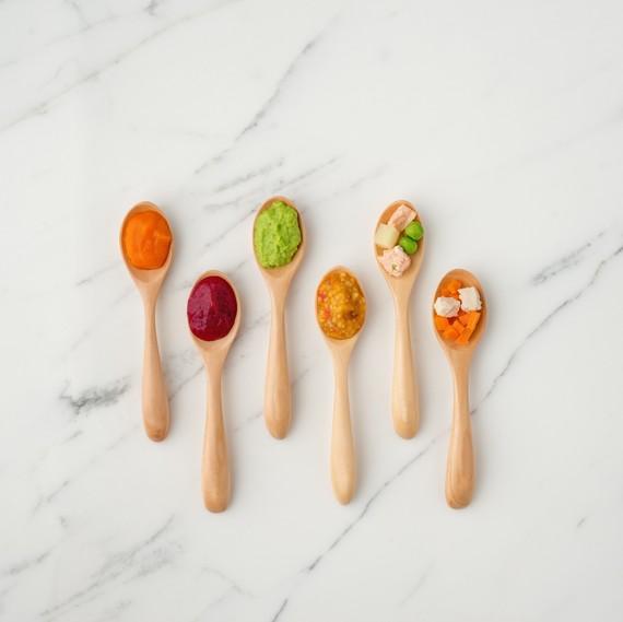 Spoons of Nurture Life's baby food