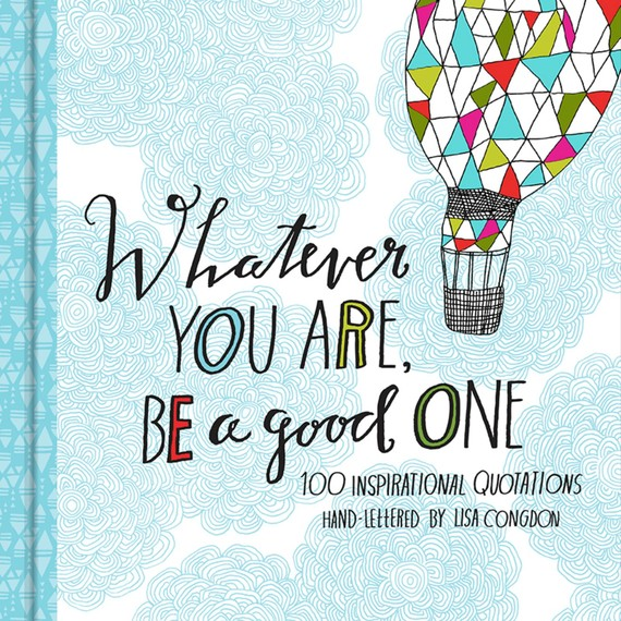 Lisa Hand Lettered Book of Quotes Chronicle Books 2014