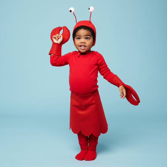 lobster halloween kids costume boy