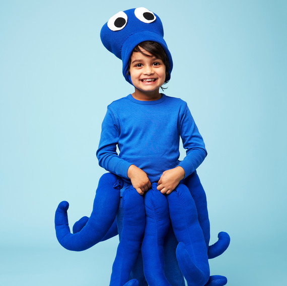 octopus halloween kids costume boy
