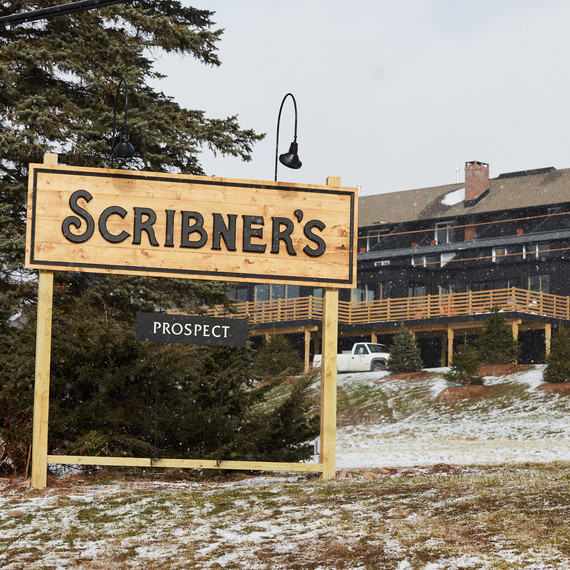 scribners signage exterior