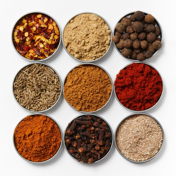 spices bowls