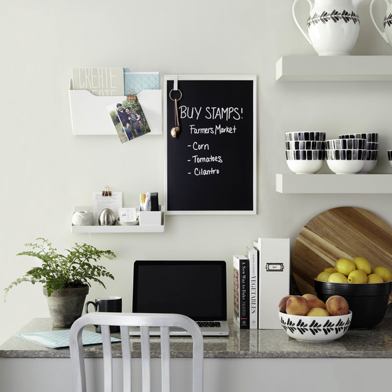 staples wall manager chalkboard