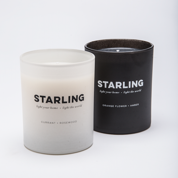 The Starlight Project candles