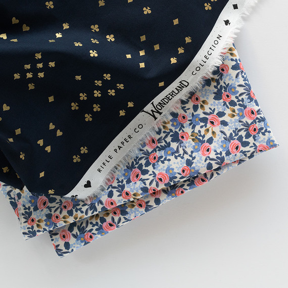 Wonderland fabric by Rifle Paper Co.