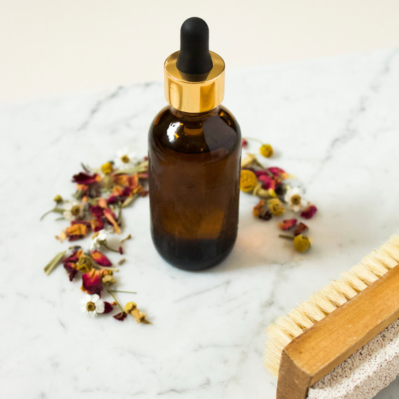 coffee infused body oil