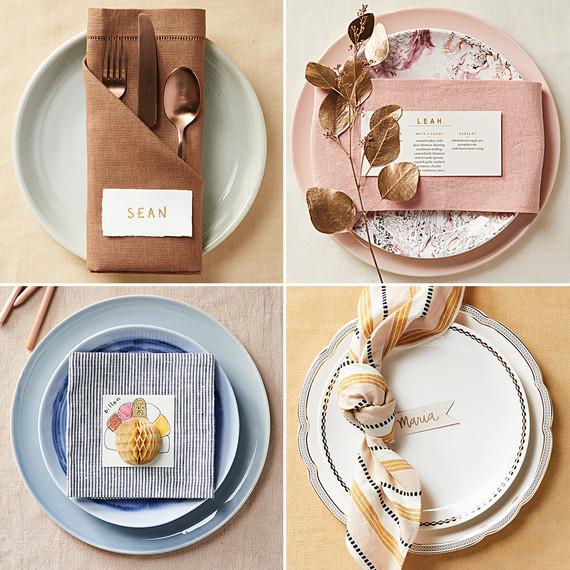 4 Easy Thanksgiving Place Settings | Martha Stewart