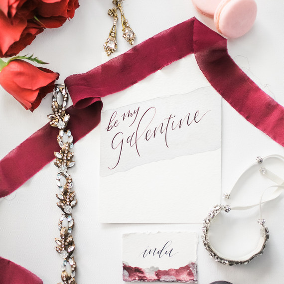 Galentine's Day paper products