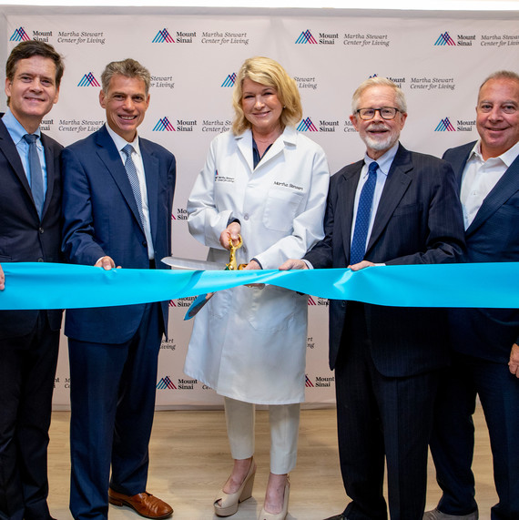 Martha Just Opened a New Holistic Care Center in Partnership