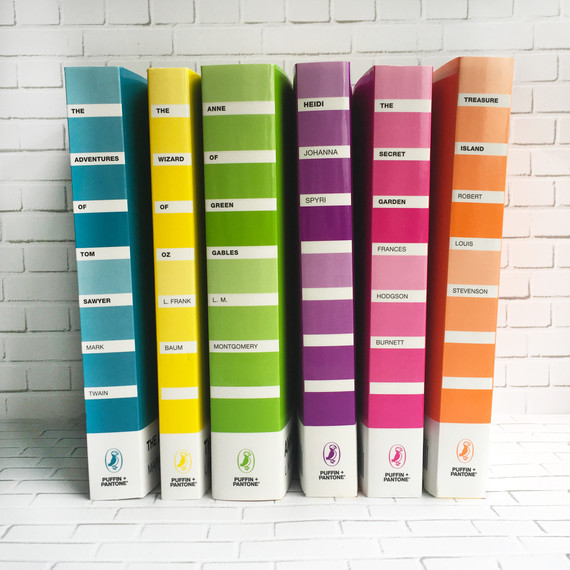 Find Out Which Pantone Color Perfectly Represents Your Favorite Book ...