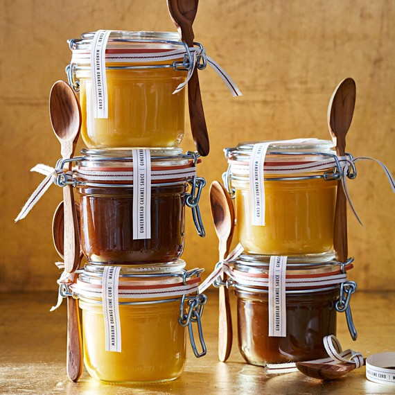 Jars of Homemade sauce