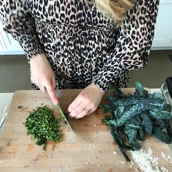 anna jones chopping