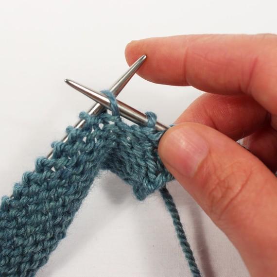 Correct Purl Stitch