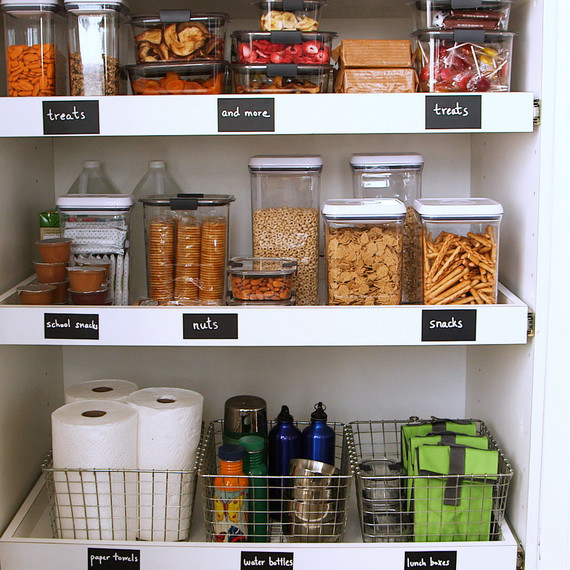 How To Organize A Kid Friendly Pantry In The Kitchen