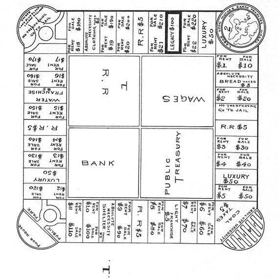 the landlord game patent