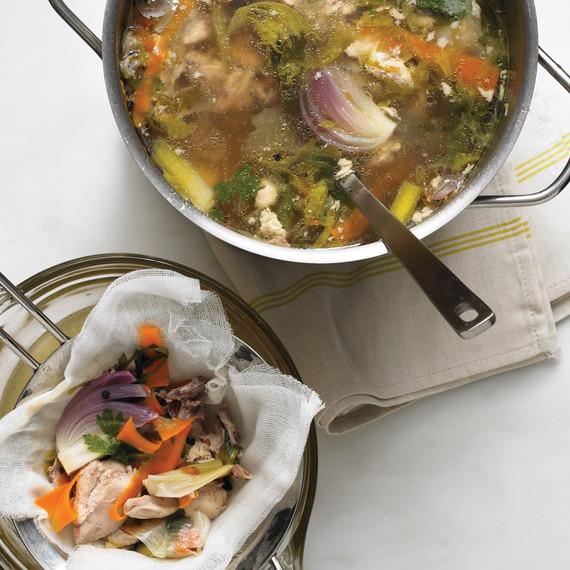 vegetable scraps stock