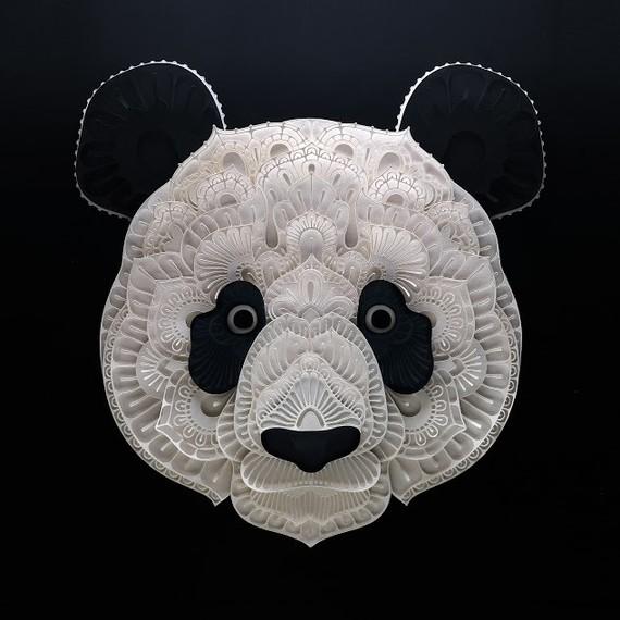 panda papercut